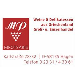 Wein und Delikatessen aus Griechenland MPOTSARIS
