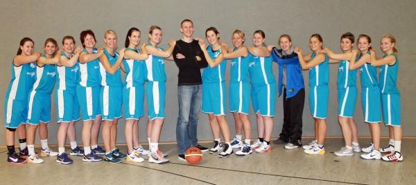 BG Hagen 1. Damenmannschaft 2012/13