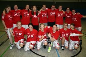 Die BG DEK/Fichte Hagen wurde Meister in der Beziksliga und steigt in die Landesliga auf.