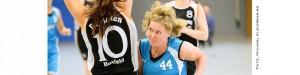 Die BG-Akteurin Maren Thimm, hier im Spiel gegen Borken Hoxfeld, war in Münster sowohl im Abschluss als auch als Vorbereiterin ganz stark.